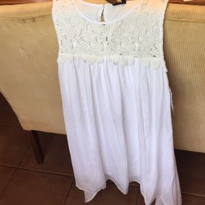 White Trixxi Sun dress